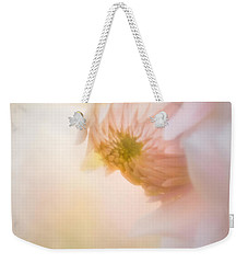 Dahlia In The Soft Morning Mist Weekender Tote Bag