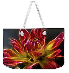 Dahlia Weekender Tote Bag by Joann Copeland-Paul
