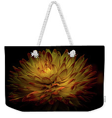 Weekender Tote Bag featuring the photograph Dahlia by Ryan Photography