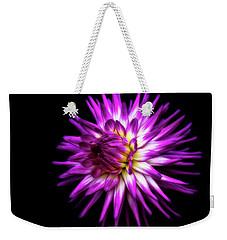Dahlia Starburst Weekender Tote Bag