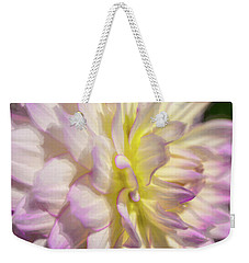 Dahlia Study 5 Painterly  Weekender Tote Bag