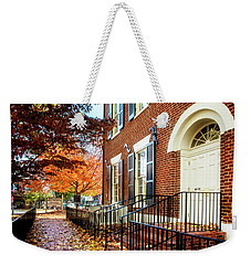 Weekender Tote Bag featuring the photograph Dahlonega Gold Museum by Greg Mimbs
