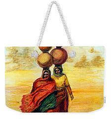 Daily Desert Dance Weekender Tote Bag by Alika Kumar