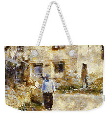 Daily Walk Weekender Tote Bag by Shirley Stalter