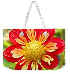 Dainty Dahlia Weekender Tote Bag
