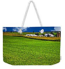 Dairy Farm Dane County Wisconsin Weekender Tote Bag