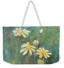 Daisies 3 Weekender Tote Bag by Jane See