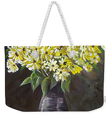 Daisies And Apples  Weekender Tote Bag