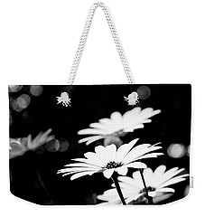 Daisies In Black And White Weekender Tote Bag