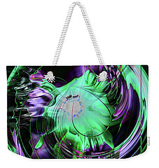 Daisy 2 Weekender Tote Bag by Elaine Hunter