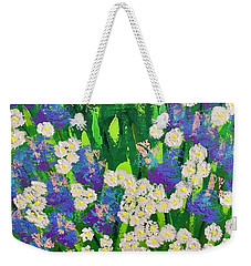 Daisy And Glads Weekender Tote Bag by George Riney