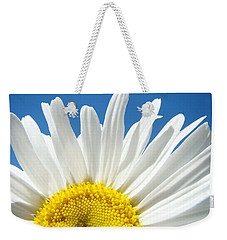 Daisy Art Prints White Daisies Flowers Blue Sky Weekender Tote Bag