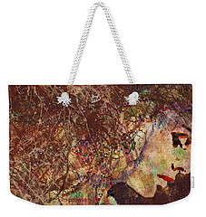 Daisy Chain Eve Weekender Tote Bag by Kim Prowse