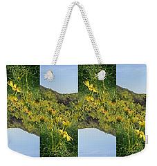 Daisy Fields Weekender Tote Bag