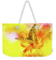 Daisy For A Butterfly Weekender Tote Bag