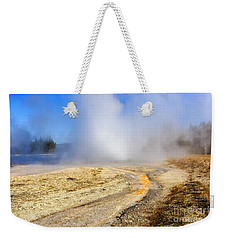 Daisy Geyser Weekender Tote Bag