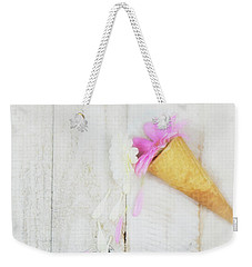 Daisy Ice Cream Cone Weekender Tote Bag