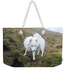 Daisy - Japanees Spits Weekender Tote Bag by David Grant