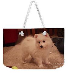 Daisy - Japanese Spitz Weekender Tote Bag