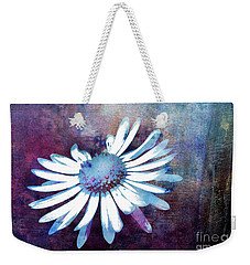 Weekender Tote Bag featuring the mixed media Daisy by Jutta Maria Pusl