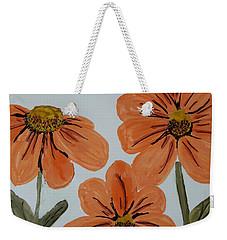 Daisy-like Flowers Weekender Tote Bag