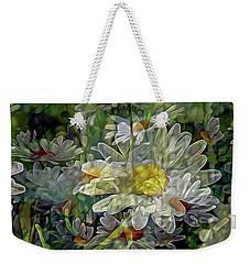 Daisy Mystique 8 Weekender Tote Bag
