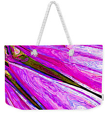 Daisy Petal Abstract 1 Weekender Tote Bag
