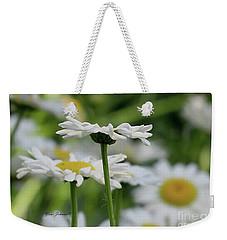 Daisy Petals  Weekender Tote Bag