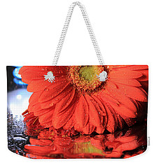 Daisy Reflections Weekender Tote Bag by Angela Murdock