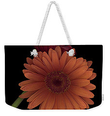 Daisy Tilt Weekender Tote Bag by Heather Kirk