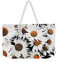 Daisy With A Twist Weekender Tote Bag