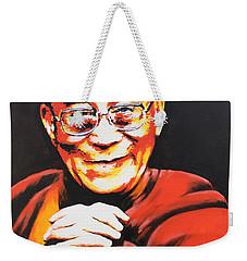 Dalai Lama Weekender Tote Bag