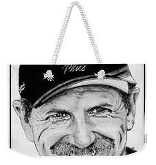 Dale Earnhardt Sr In 2001 Weekender Tote Bag by J McCombie