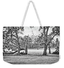Dale - Foggy Morning Weekender Tote Bag by Scott Hansen