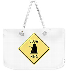 Dalek Crossing Weekender Tote Bag