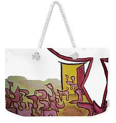 Dalet An Open Door Ab16 Weekender Tote Bag