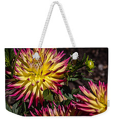 Dalhia Weekender Tote Bag by Randy Bayne