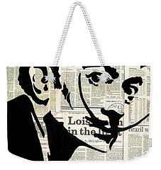Dali Weekender Tote Bag by Kruti Shah