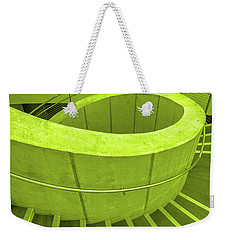 Dali Museum Staircase In Green Weekender Tote Bag