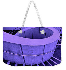 Dali Museum Staircase In Purple Weekender Tote Bag