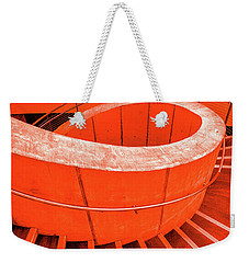 Dali Museum Staircase In Red Weekender Tote Bag