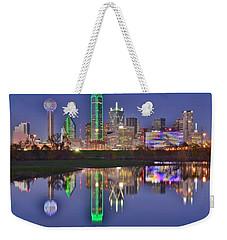 Dallas Blue Hour Weekender Tote Bag