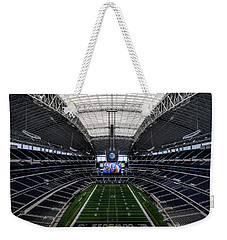 Dallas Cowboys Stadium End Zone Weekender Tote Bag