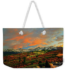 Dallas Divide Sunset - 2 Weekender Tote Bag