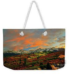 Dallas Divide Sunset - 2 Weekender Tote Bag
