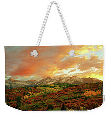 Dallas Divide Sunset Weekender Tote Bag