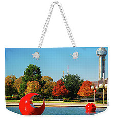 Weekender Tote Bag featuring the photograph Dallas by James Kirkikis