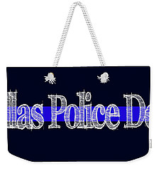 Dallas Police Dept. Blue Line Mug Weekender Tote Bag