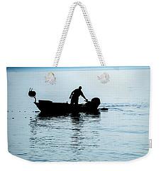Dalmatian Coast Fisherman Silhouette, Croatia Weekender Tote Bag