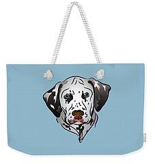 Dalmatian Portrait Weekender Tote Bag by MM Anderson